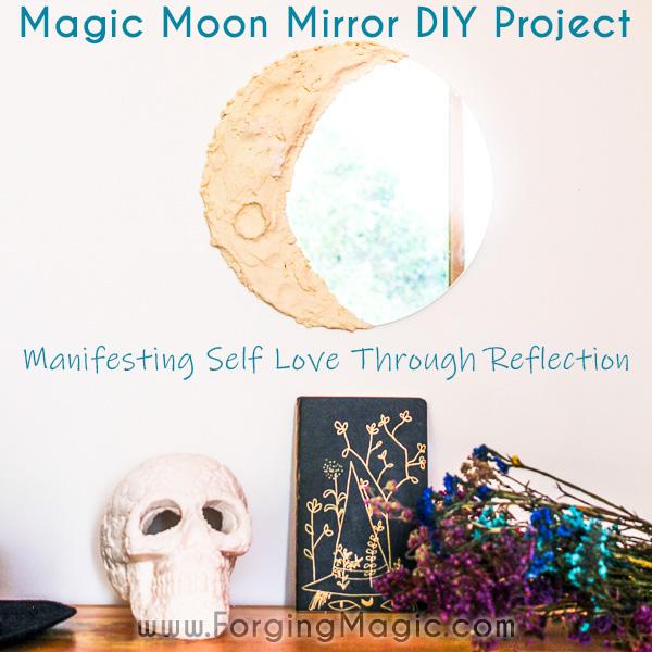 Moon Mirror DIY