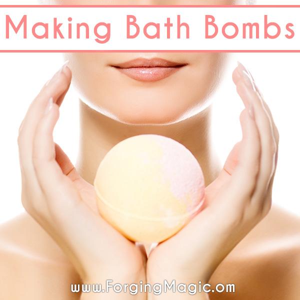 Making Bath Fizzies