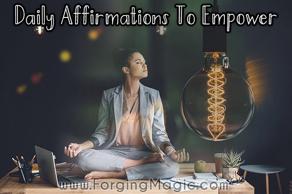 Daily Affirmations to change mindsets and behaviours for success and joy