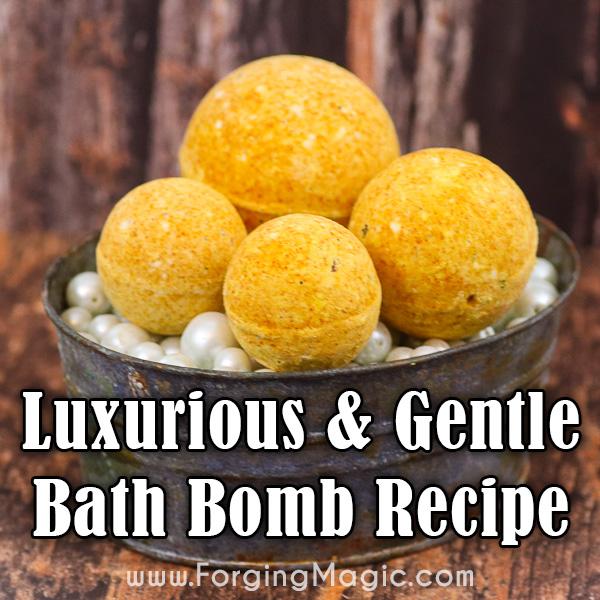 All Natural Bath Bombs Recipe