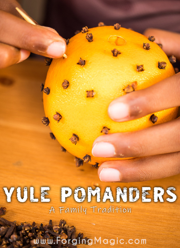 How to make a Yule Pomander