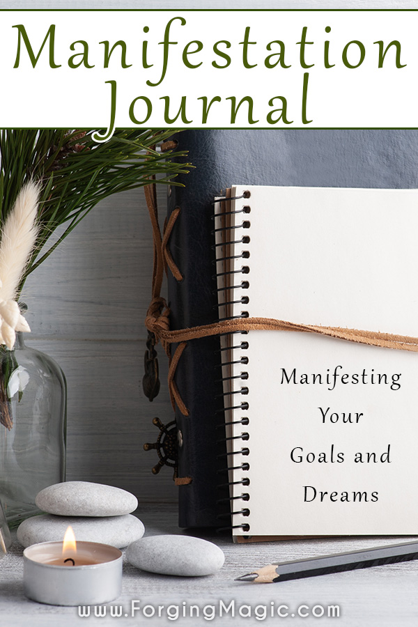 Manifestation Journal for Higher Self and Goal Attainment