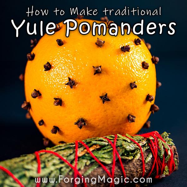 Yule Pomander