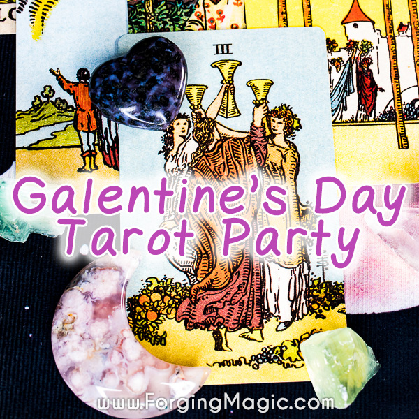 Galentine's Day Tarot Party