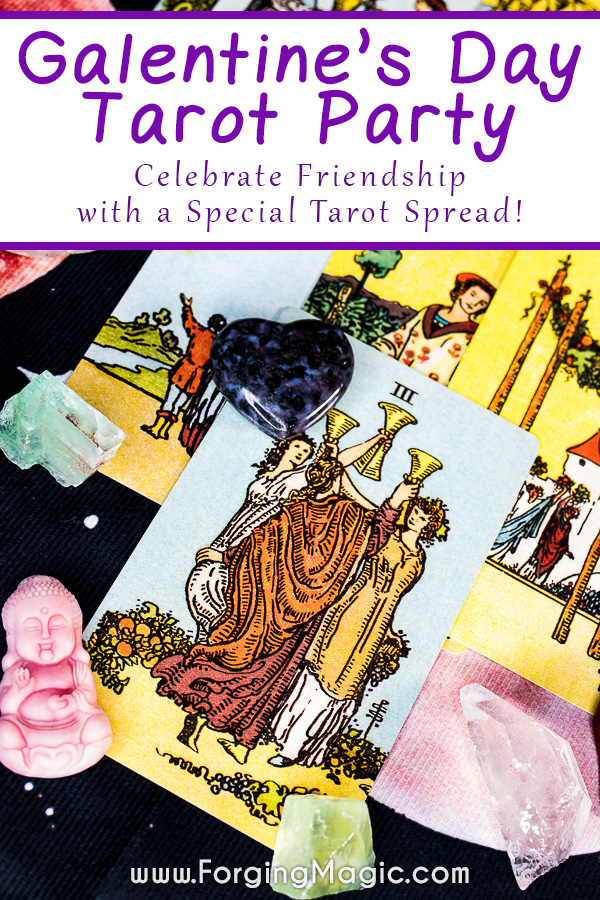Galentine's Day Tarot Party Ideas