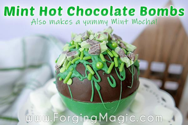 Mint Hot Chocolate Bomb