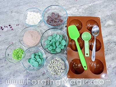 Hot Chocolate Bomb Making Supplies
