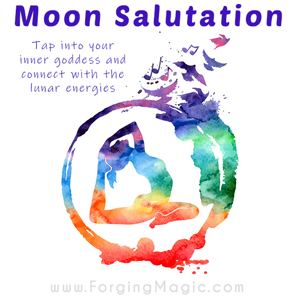 Moon Salutation Yoga