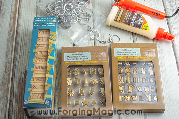 Wood Burning Project Supplies