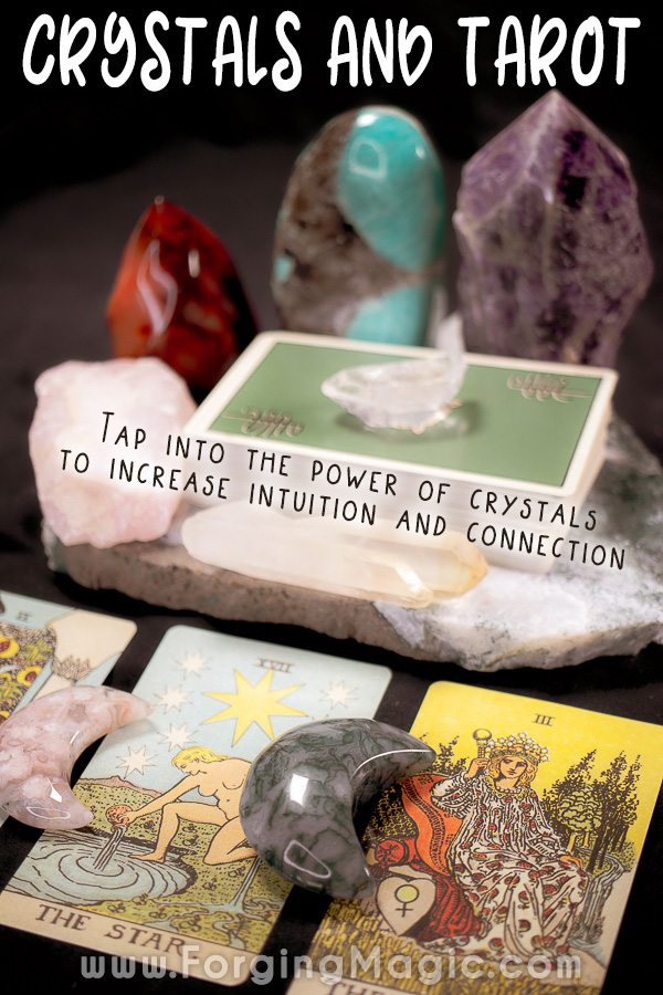 Using crystals with tarot