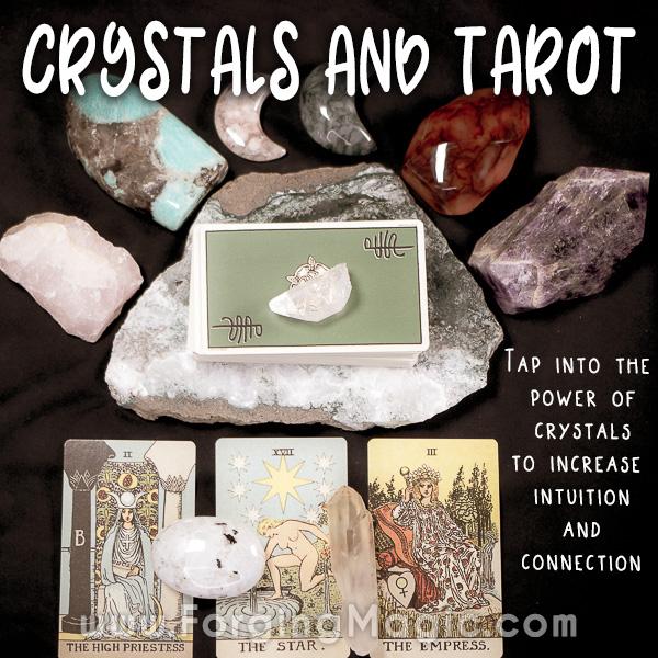 Tarot and crystals