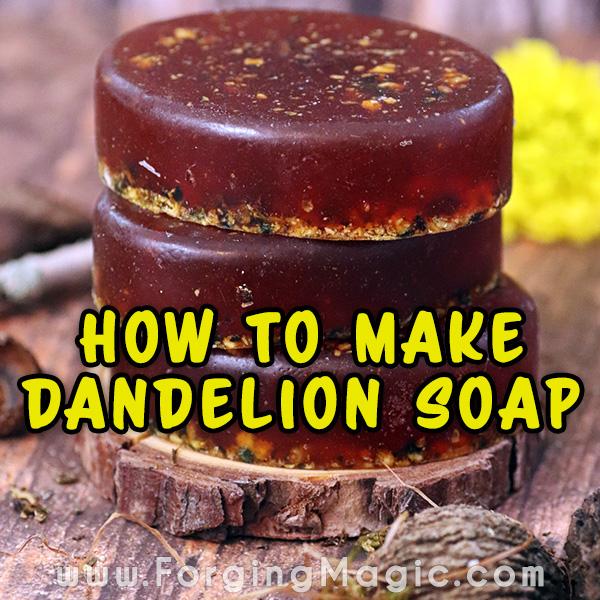 Dandelion Soap