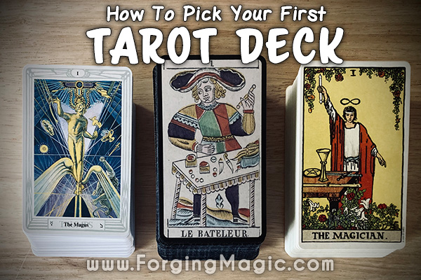 How to pick your first tarot deck