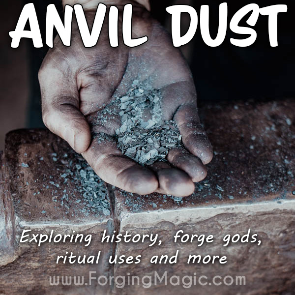 Anvil Dust from blacksmith forge