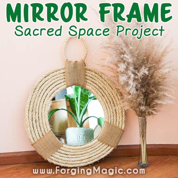 Mirror Frame DIY Project