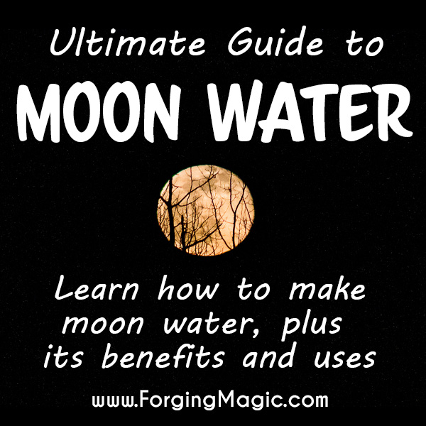 How to make and use moon water on the full moon